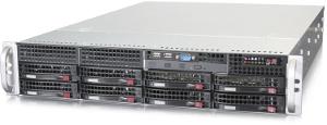 Сервер STSS Flagman EX227.3-008LH вид спереди сверху