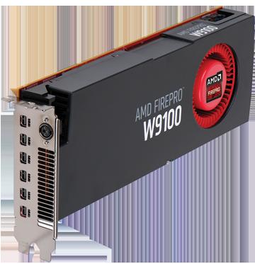 Профессиональная видеокарта AMD FirePro W9100