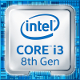 Intel Core i3 8-Generation (Coffee Lake) Logo 2017