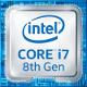 Intel Core i7 8-Generation (Coffee Lake) Logo 2017