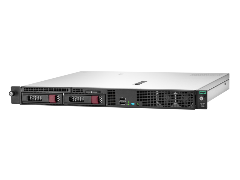 сервер HPE ProLiant DL20 Gen 10 (hero view)