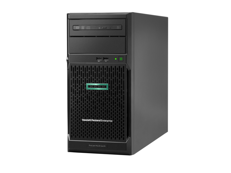 сервер HPE ProLiant ML30 Gen 10 (hero view)