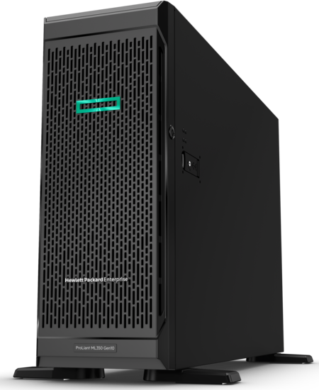 HPE ProLiant ML350 Gen 10 (hero view)