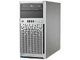 Сервер HP ProLiant ML310e Gen8 v2 bezel Tower right angled
