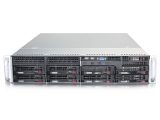 "1-процессорный сервер для монтажа в 19"" стойку STSS Flagman RX127.5-008LH"