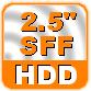 """Применение и преимущества жестких дисков форм-фактора 2.5"""" SFF HDD"""