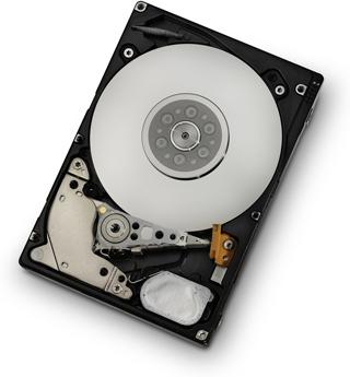 """2.5"""" жесткий диск внутри"""