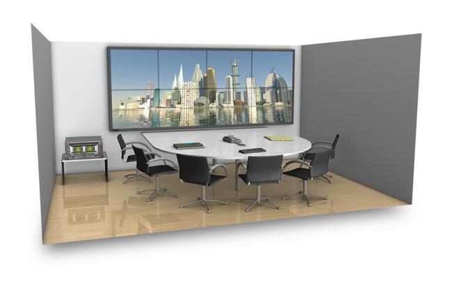 Применение NVIDIA Quadro - комната совещаний