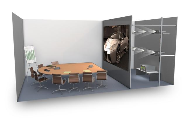 Применение NVIDIA Quadro - конференц-зал
