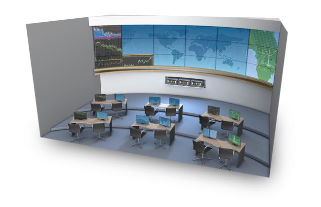 Применение NVIDIA Quadro - операционный центр