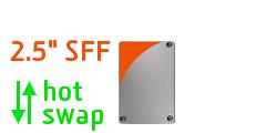 "2.5"" SFF Hotswap"